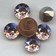 1200 SS55 LRM *** 1 très gros strass Swarovski 13,1MM LIGHT ROSE MOONLIGHT