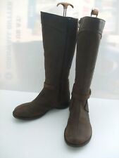 Merrell Womens Brown Leather Captiva Buckle Down Mid Calf Boots UK 7