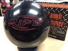 16lb NIB Hammer RIP'D BLACK Undrilled Bowling Ball BLACK