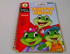 Leap Pad Leap Frog Learning System Interactive BOOK ONLY Preschool to Grade 2