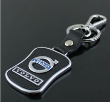 New  Volvo Series Style Car Keychain Volvo Leather Keychain Collect Key Ring
