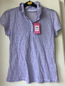 BNWT Swing Out Sister Lilac Golf Top Size L 12/14