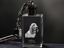 Redbone Coonhound, Dog Crystal Keyring, High Quality, Crystal Animals Ca
