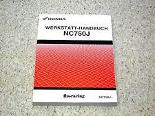 original HONDA NC 750 J , ab 2014 , RC82 Vultus , MN4 , Werkstatthandbuch , NEU!