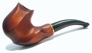 IT New PIPA FUMATA PIPE Fumo * FIGURED * RADICA Handmade Smoking Pipe 9 mm