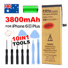 High Capacity 3800mAh Replacement Battery For Apple iPhone 6S Plus Gold Tool Kit