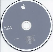 APPLE iPod and iPod Mini Install CD 2Z691-5028-A Software