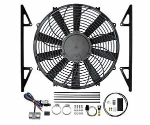 Revotec Electronic Cooling Fan Conversion Kit Austin Healey 3000 - Pos Earth