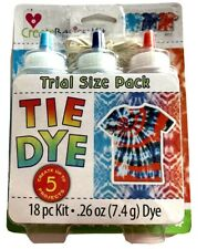Create Basics Nautical Tie Dye Kit, 18 Piece kit, 3 Colors NEW Free shipping