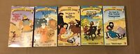The Beginner's Bible VHS Lot - Moses Creation Daniel David Joseph P Son