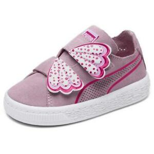 Puma Kids Select Suede Deconstruct Butterfly Trainers Size UK 7k