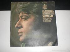 SINGLE GABRIEL MORENO - MI MALAGA / ARREBATOS DEL QUERER - HISPAVOX 1976