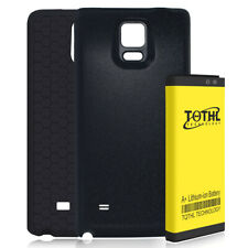 Extended 7650mAh Battery + Cover + Case For Samsung Galaxy Note 4 N910P Sprint