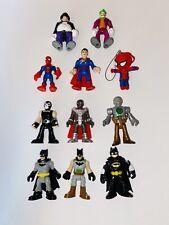 Super Hero Figures Lot Batman Joker Riddler Punisher  Imaginext Superman