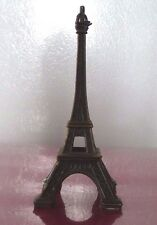 Nice Decorative Tiny Eiffel Tower ! Metal Art Toy +- 4 Inches high