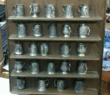 23 - vintage Miniature - Pewter Stein/Mug - John Pinches - with display stand