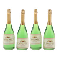 4PC Dollhouse Miniature Wine Bottles Champagne Drink Bottles 1/12 Scale