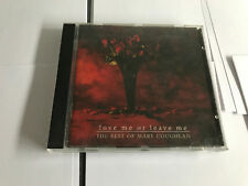 Mary Coughlan : Love Me Or Leave Me: The Best Of Mary CD (1994)  MINT/EX