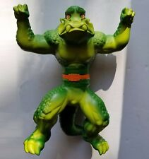 """Mattel The Krusher Vintage 1979 14"""" Monster Figure Stretch Armstrong Enemy RARE"""