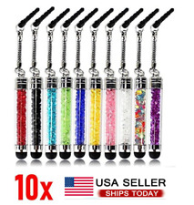 10pcs Mini Crystal Touch Screen Stylus Pen For Phone Android Table  Mobile Phone
