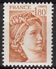 FRANCE TIMBRE NEUF  N° 2061 **  TYPE SABINE