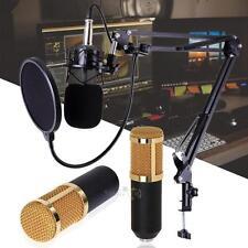 Studio Live Streaming Broadcasting Recording Condenser Microphone Online Singing