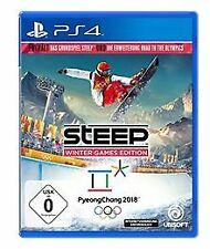 Steep - Winter Games  Edition - [PlayStation 4] von Ubisoft | Game | Zustand gut