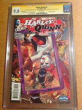 CGC 9.8 SS Harley Quinn #9 variant signed by Timm, Conner, Palmiotti & Mounts