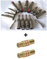 Adapter Set 18teilig XLR auf Cinch XLR auf Klinke  XLR auf Klinkebuchse  Stecker