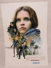 Original Star Wars Rogue One IMAX Week 2 Limited Edition Poster midnight special