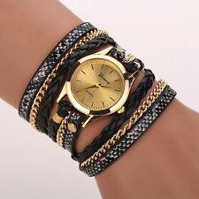 Belle Montre Femme Quartz Bracelet à Enroulement PROMO