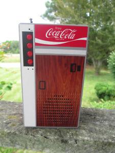 Coca-Cola Retro Vending Machine Bluetooth Speaker with FM Radio