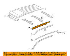 MERCEDES OEM 02-05 ML500-Exterior Roof Side Rail Right 1636300535