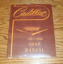 1957 1958 Cadillac Shop Service Manual 57 58