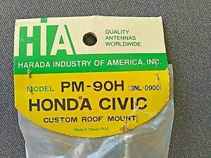 HARADA PM-90H CUSTOM ROOF MOUNT RADIO ANTENNA FOR 1973 to 1979 HONDA CIVIC, NOS