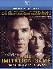 The Imitation Game (Blu-ray Disc, 2015, Includes Digital Copy; UltraViolet) NEW