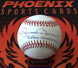Mariano Rivera Signed Major League Baseball Enter Sandman Insc MLB + Fanatics