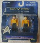 STAR TREK Minimates CHEKOV & VARIANT SULU Figures Series 2 2007 FACTORY SEALED