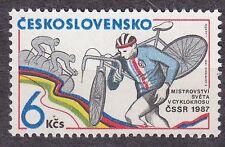 CZECHOSLOVAKIA 1987 **MNH SC#2640 World Cyclocross Championships, BOHEMIA