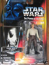 Han Solo in Carbonite - Power of the Force 1996 **STAR WARS** UNOPENED