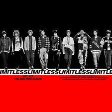 NCT 127-[NCT #127 LIMITLESS] 2nd Mini Album CD+Photo Book+Card K-POP Sealed