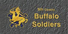 9th Cav buffalo Soldiers License Plate -LP205