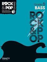 Trinity Rock & Pop Exams: Bass Grade 6 by Trinity College London (Mixed media...