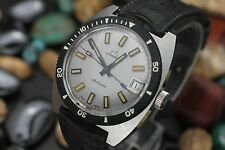 Vintage TRADITION Electronic Sears & Roebuck Stainless Steel 600ft Diver's Watch