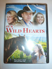 Our Wild Hearts DVD family horse drama movie mustang Ricky Schroder Cambrie NEW!