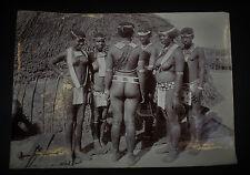 Seltenes antikes Foto Zulu Frauen Südafrika Durban Natal Nackt Nude