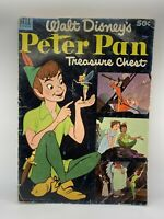 Walt Disney's Peter Pan Treasure Chest. Dell Comic. 1952 First edition RARE!! B3