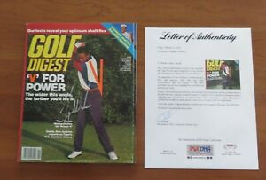 Tiger Woods Signed 1994 Golf Digest Magazine Autographed Signed PRE - RC RARE