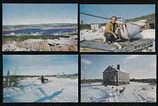 Newfoundland 4 PPCs c1950/60s?