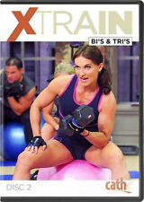 Weight Training Strength EXERCISE DVD - CATHE FRIEDRICH Xtrain Bi's and Tri's!